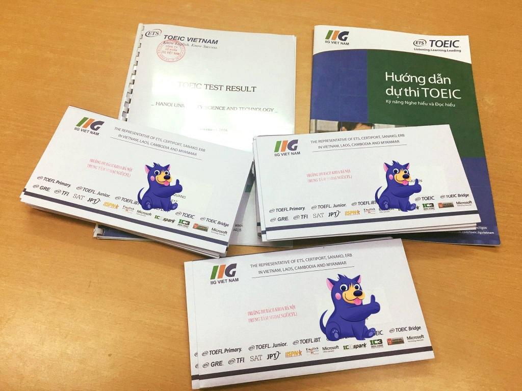 Đến văn phòng IIG Vietnam để đăng ký dự thi Toeic