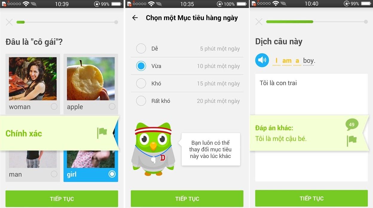 Các app học từ vựng tiếng anh miễn phí
