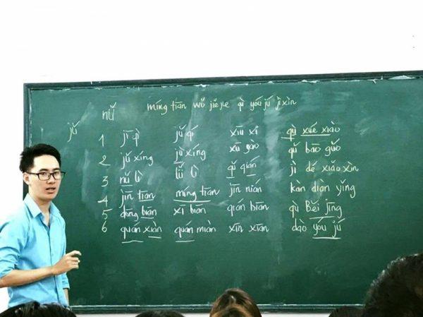 ngành ngôn ngữ trung quốc học trường nào